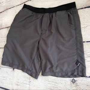 Prana Shorts - Prana men's Mojo shorts dark gray XL EUC